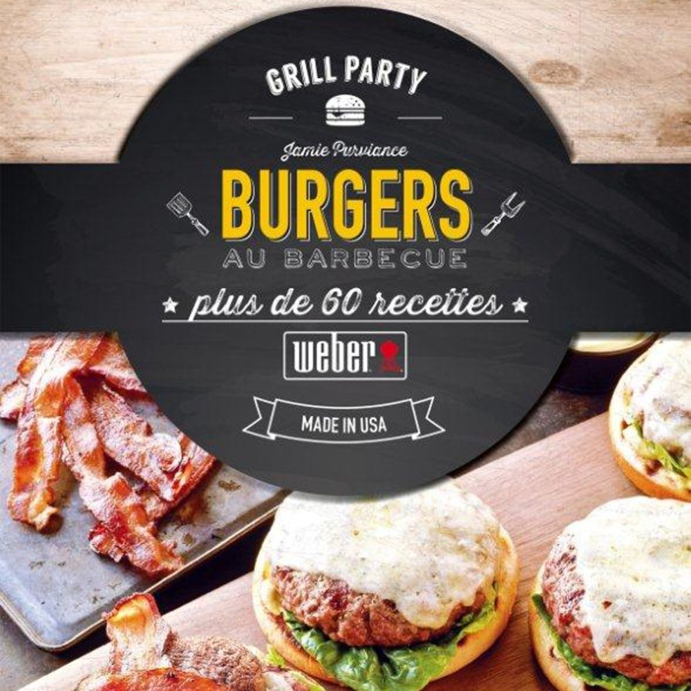 Livre de recette 'Burgers au barbecue'