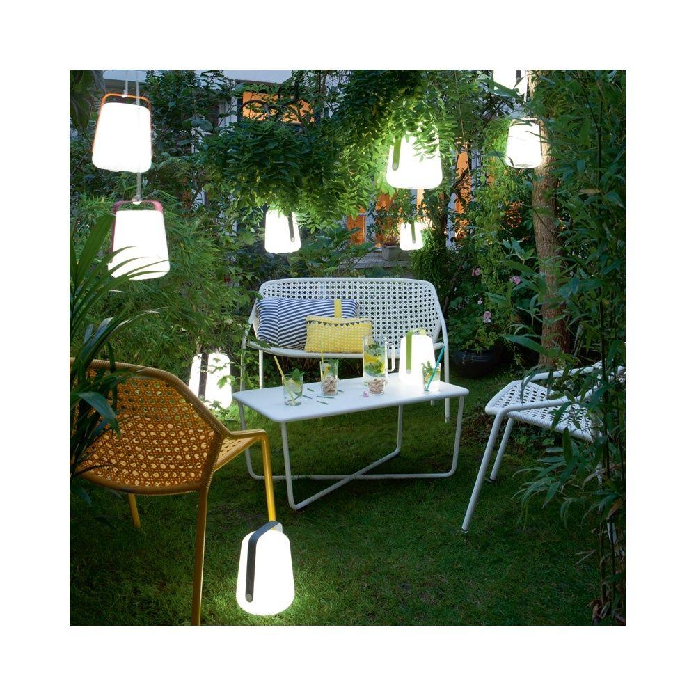 Lampe fermob balad sans fil h25 cm muscade 40 x 60 x 28 cm for Lampe de jardin sans fil