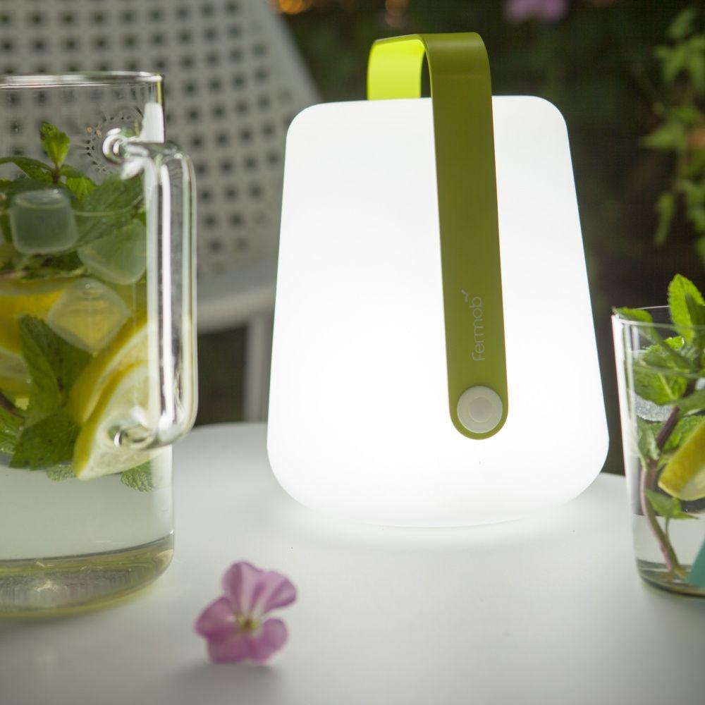 Lampe Fermob Balad sans fil H25 cm verveine