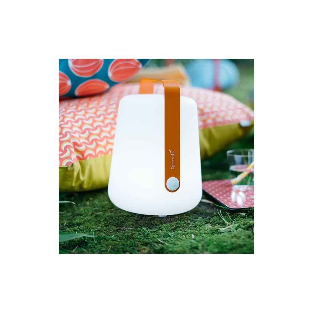 lampe fermob balad sans fil h25 cm carotte 40 x 60 x 28 cm gamm vert. Black Bedroom Furniture Sets. Home Design Ideas