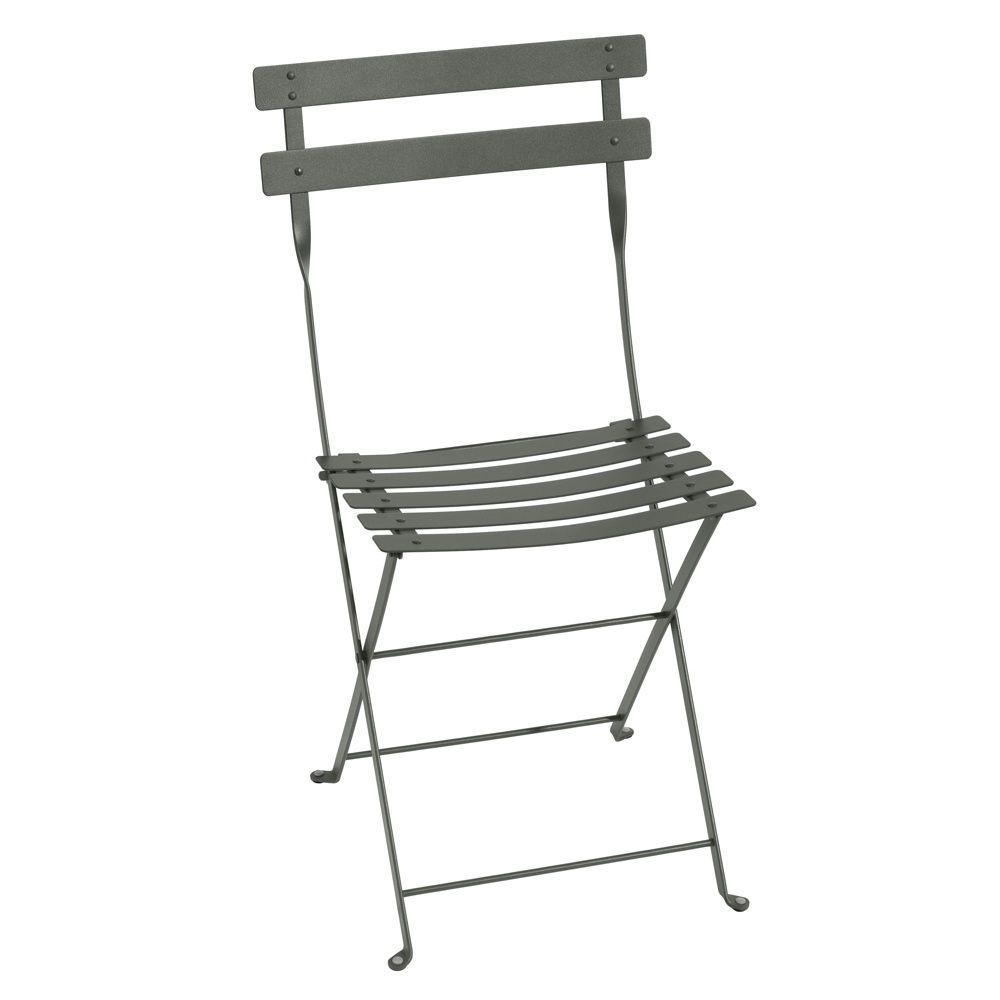 Chaise pliante Fermob Bistro acier romarin