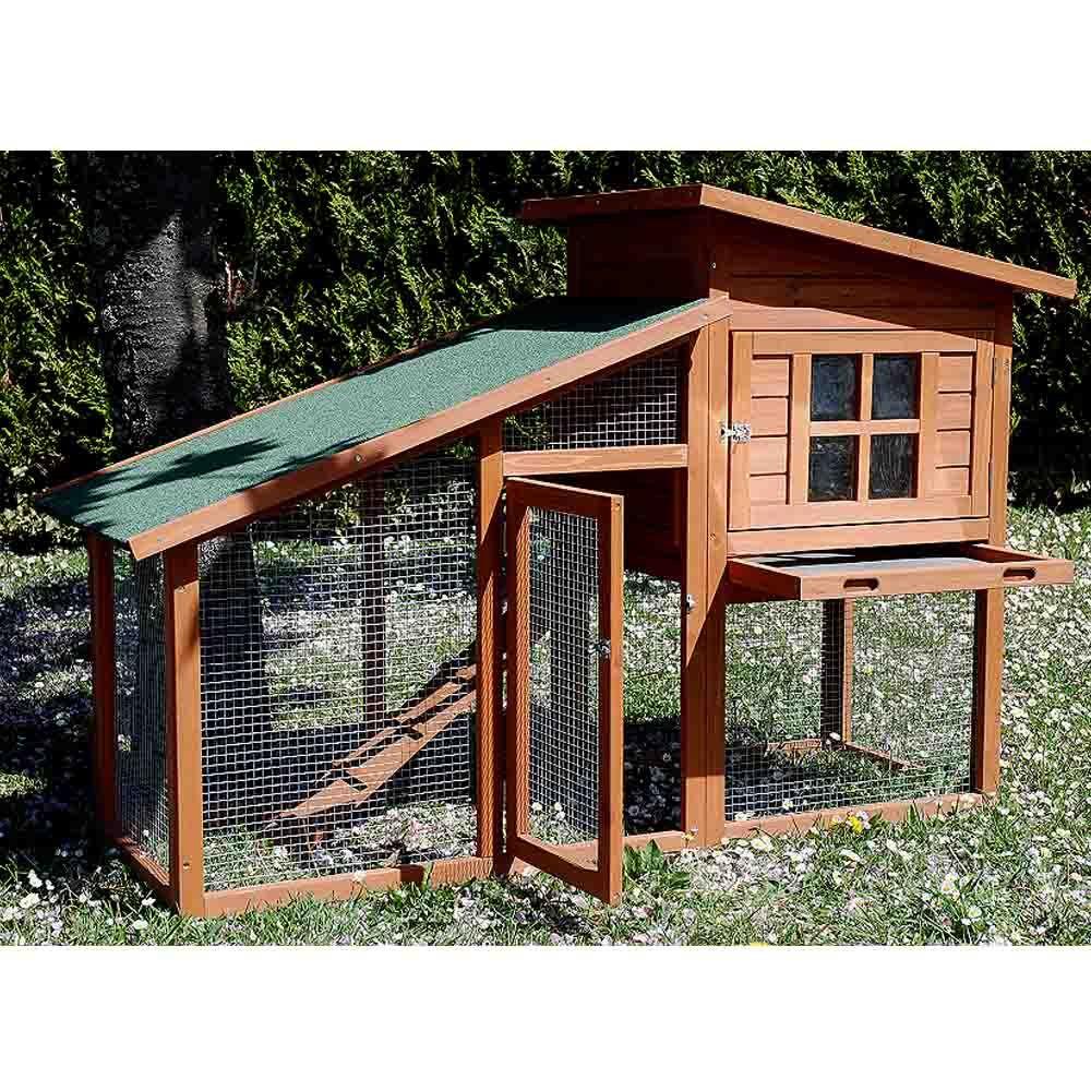 poulailler colorado 1 2 poules 100 5 x 84 5 x 20 cm gamm vert. Black Bedroom Furniture Sets. Home Design Ideas