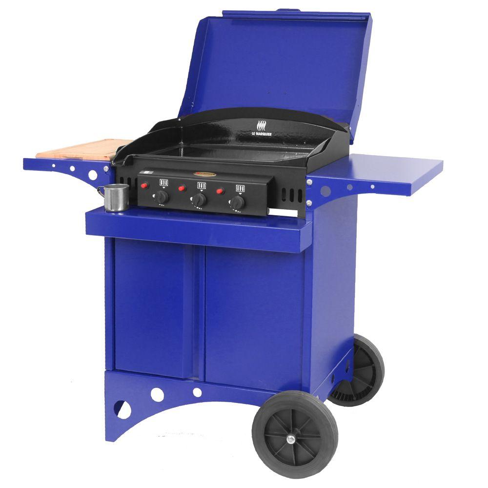 Plancha gaz le marquier kitchen 3 br leurs bleu gamm vert for Plancha gaz le marquier