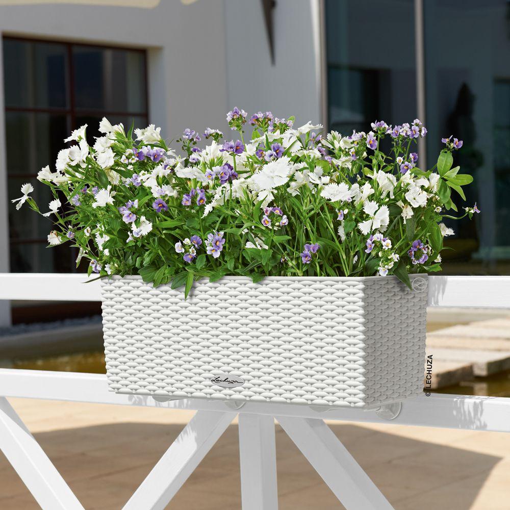 jardini re lechuza balconera cottage l50 h19 cm blanc. Black Bedroom Furniture Sets. Home Design Ideas