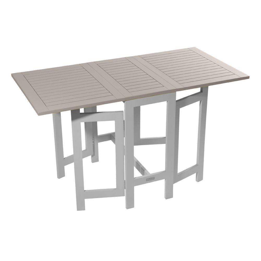 table console pliante city green burano bois l37 135 l65 cm argile h37 x l66 x l75 cm 18 5 kg. Black Bedroom Furniture Sets. Home Design Ideas