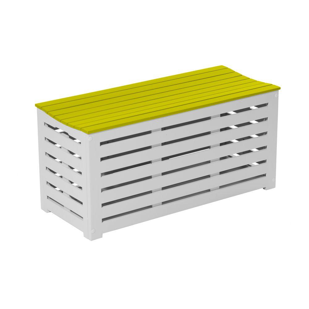 latest coffre banc city green burano bois l anis with coffre banc balcon. Black Bedroom Furniture Sets. Home Design Ideas