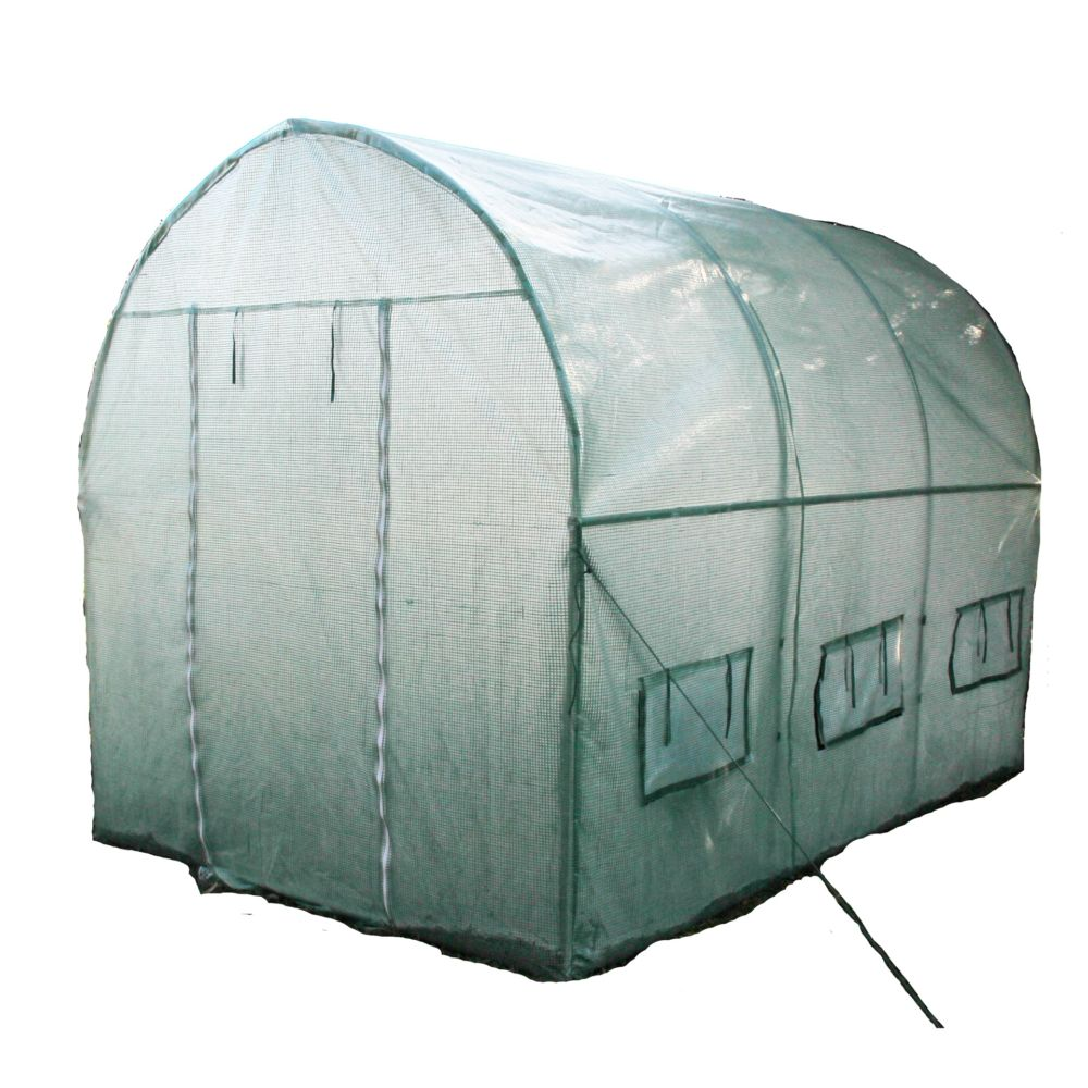 serre tunnel 6 m habrita gamm vert. Black Bedroom Furniture Sets. Home Design Ideas