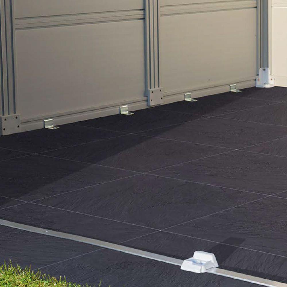 plancher pour abri de jardin grosfillex 4 90 m gamm vert. Black Bedroom Furniture Sets. Home Design Ideas