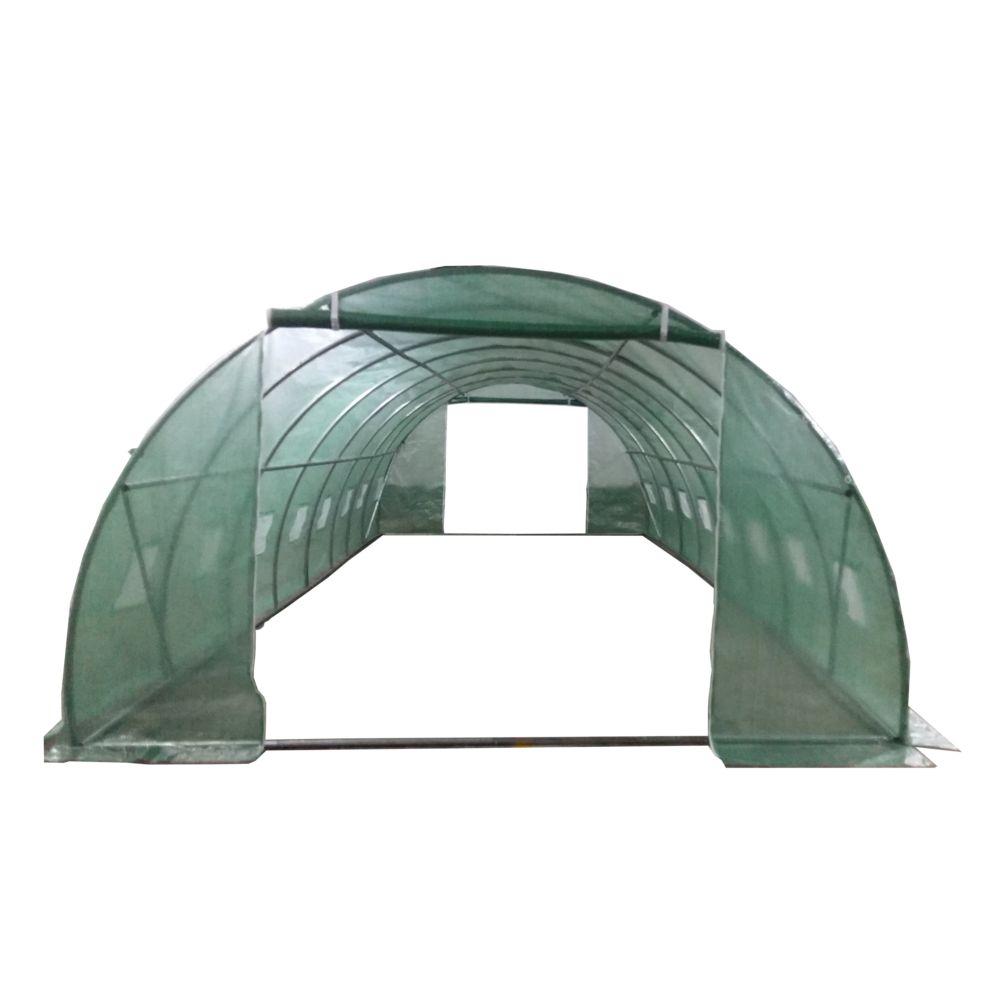 serre tunnel 32 m habrita gamm vert. Black Bedroom Furniture Sets. Home Design Ideas