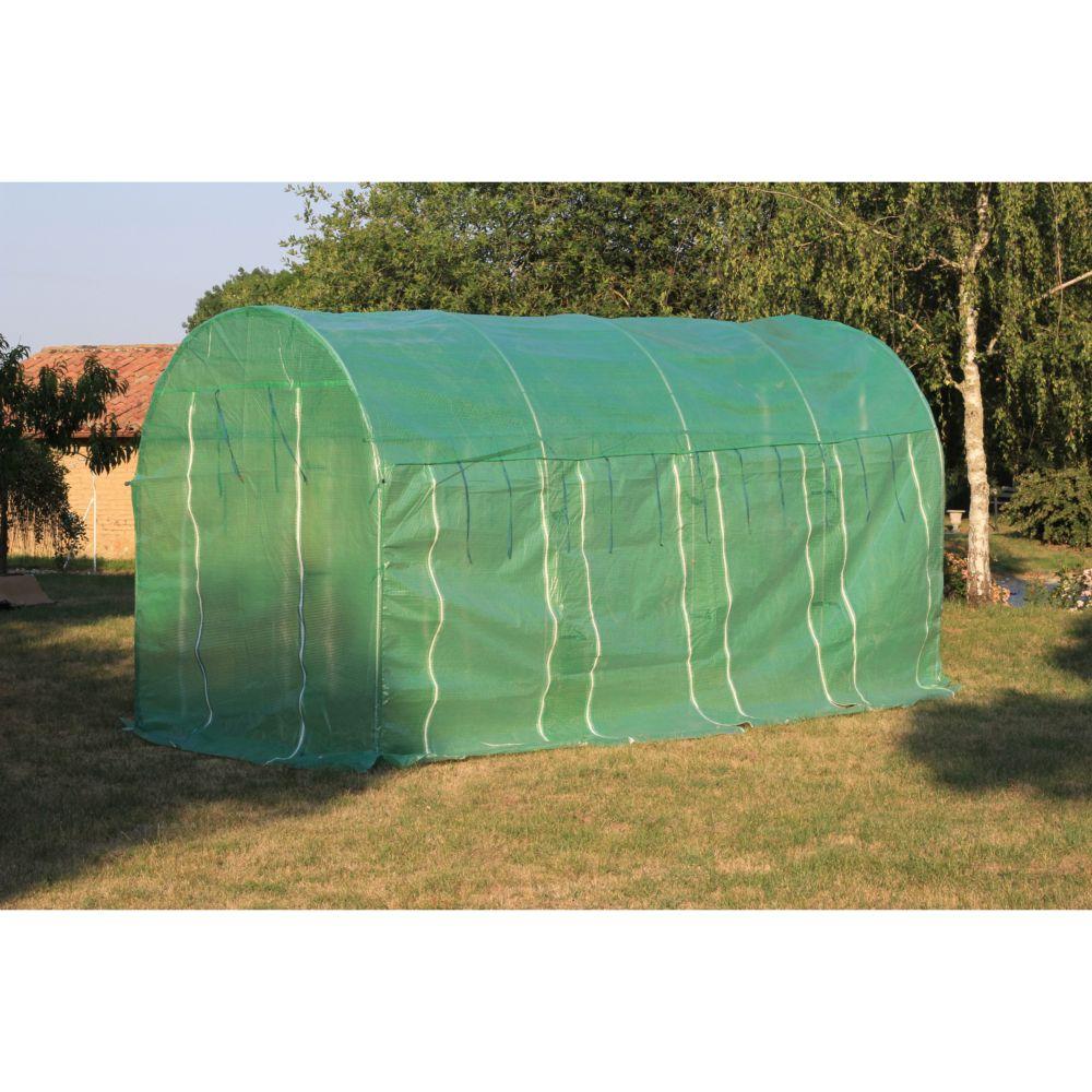 serre tunnel 9 m 4 saisons habrita gamm vert. Black Bedroom Furniture Sets. Home Design Ideas