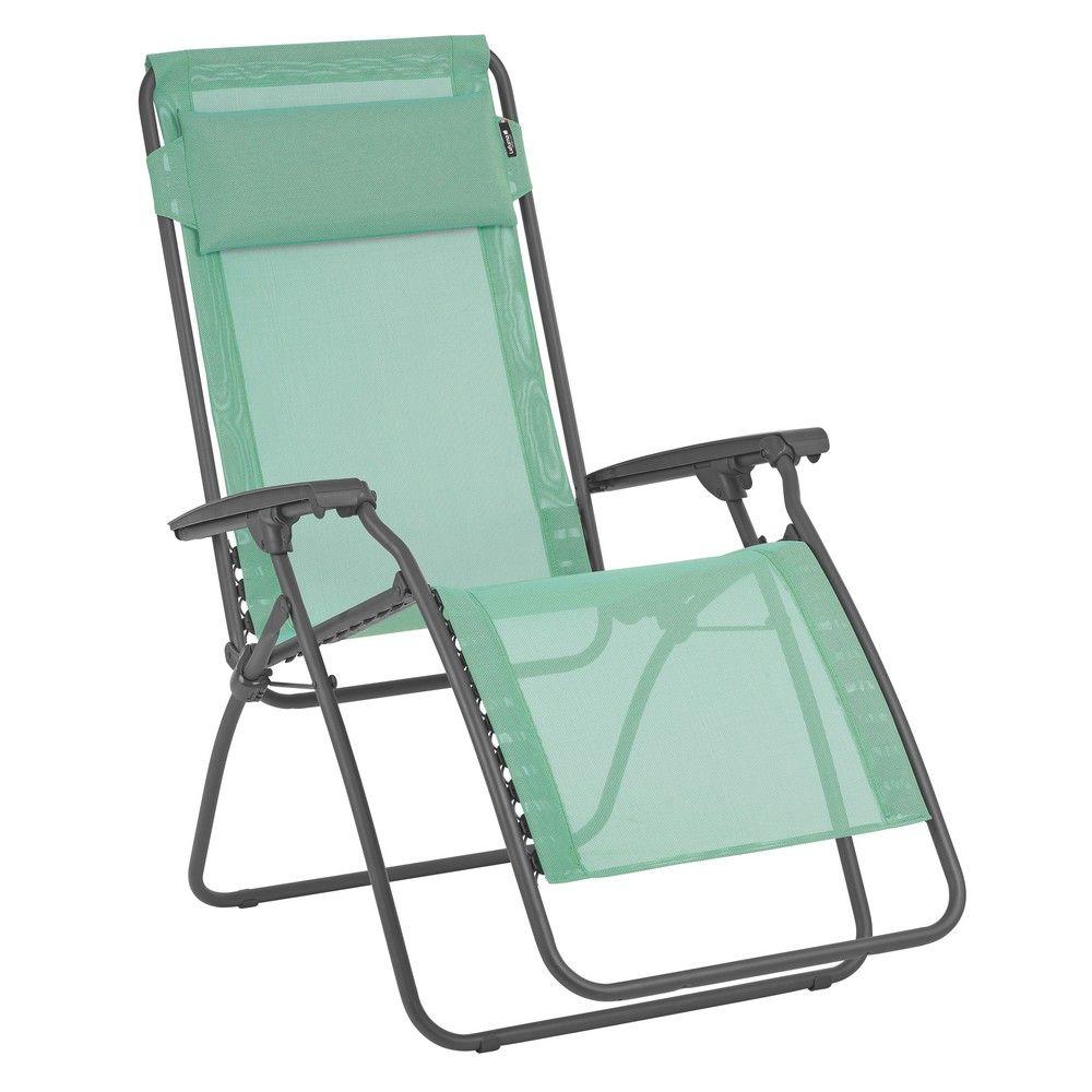 fauteuil relax lafuma r clip menthol hauteur 17 x largeur 67 x longueur 98 cm gamm vert. Black Bedroom Furniture Sets. Home Design Ideas