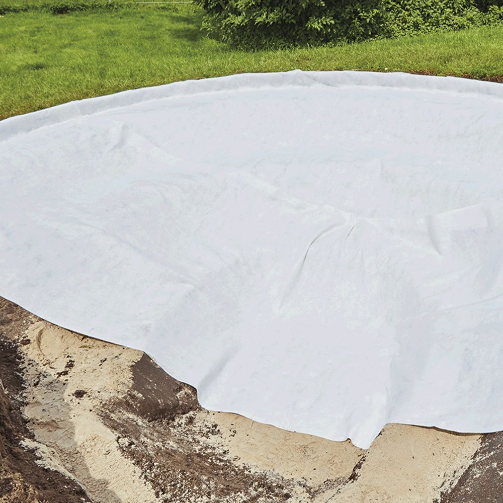feutre g otextile de bassin 200 g m 2x5 m oase gamm vert. Black Bedroom Furniture Sets. Home Design Ideas