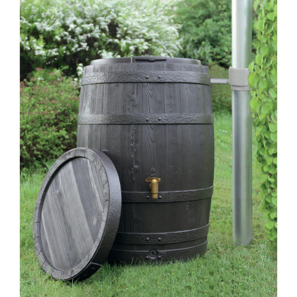 r cup rateur d 39 eau garantia tonneau vino 400 l brun gamm vert. Black Bedroom Furniture Sets. Home Design Ideas