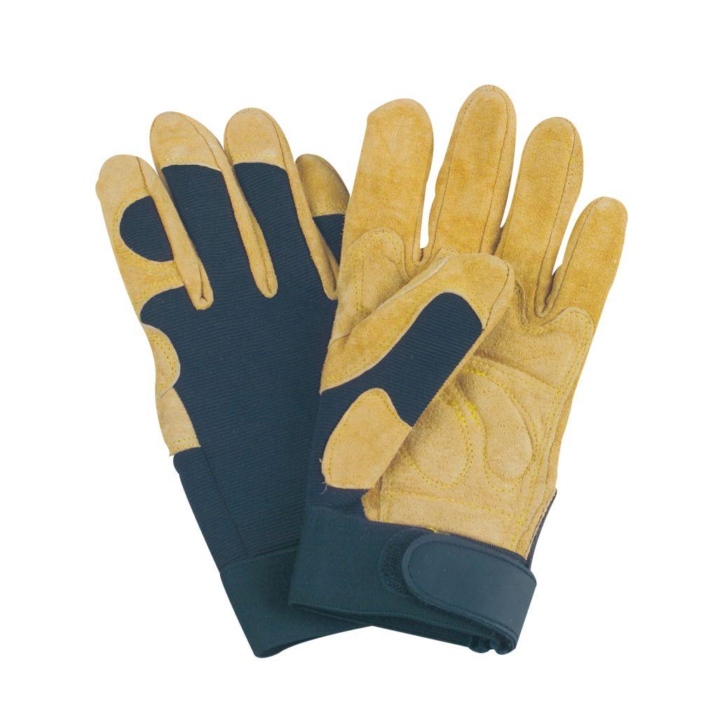 gants de travail pr cision taille 9 solidur gamm vert. Black Bedroom Furniture Sets. Home Design Ideas