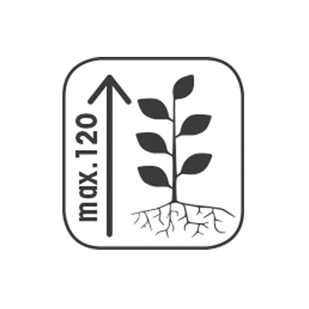 bac fleurs muret bois trait autoclave acier l120 h76 cm collectors 120x45x76 cm gamm vert. Black Bedroom Furniture Sets. Home Design Ideas