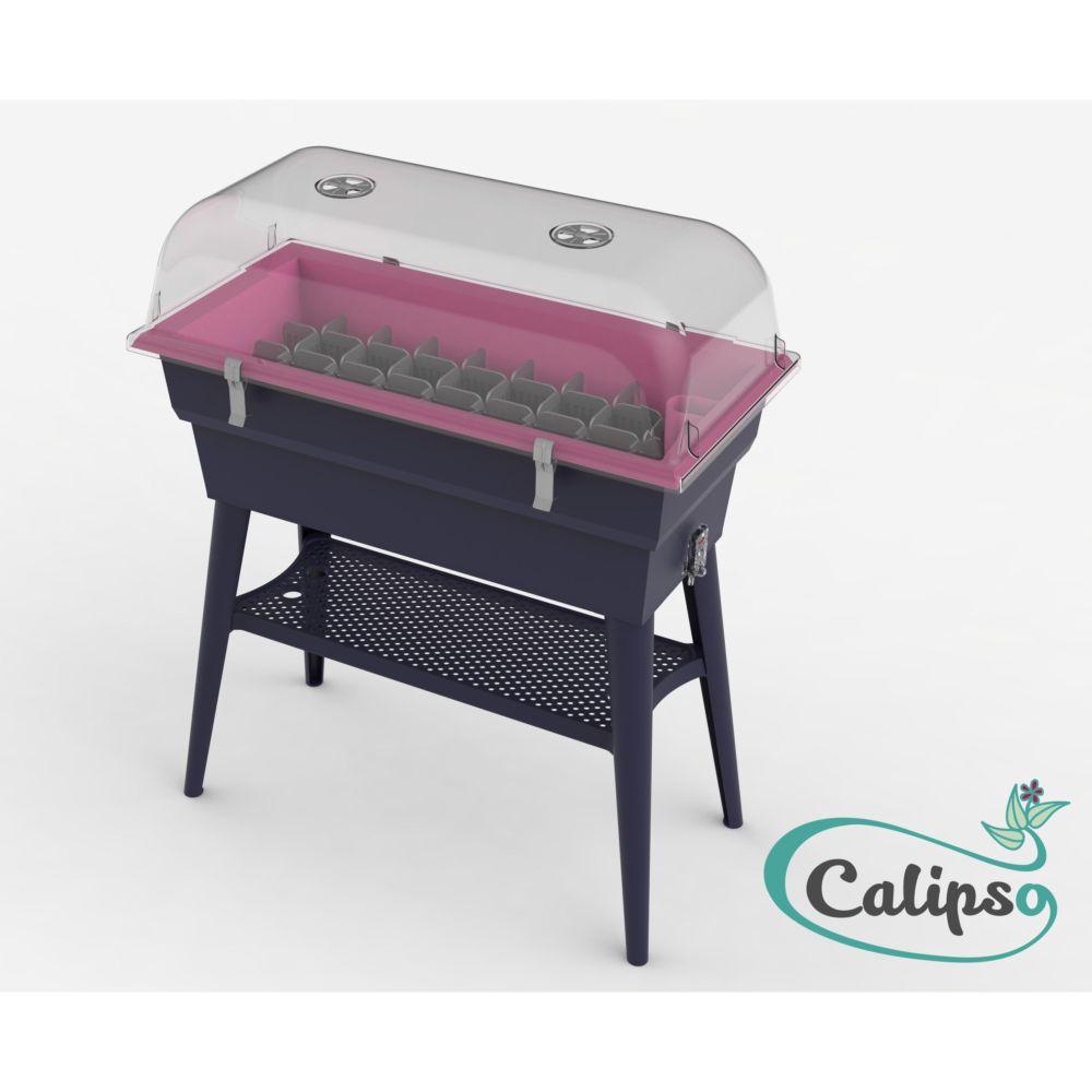 Jardinière 40 L Calipso Combi framboise – Pouss'Vert