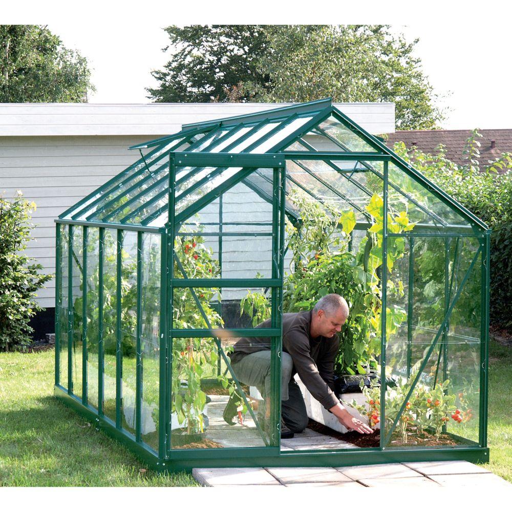 serre venus en verre tremp m vert lams gamm vert. Black Bedroom Furniture Sets. Home Design Ideas
