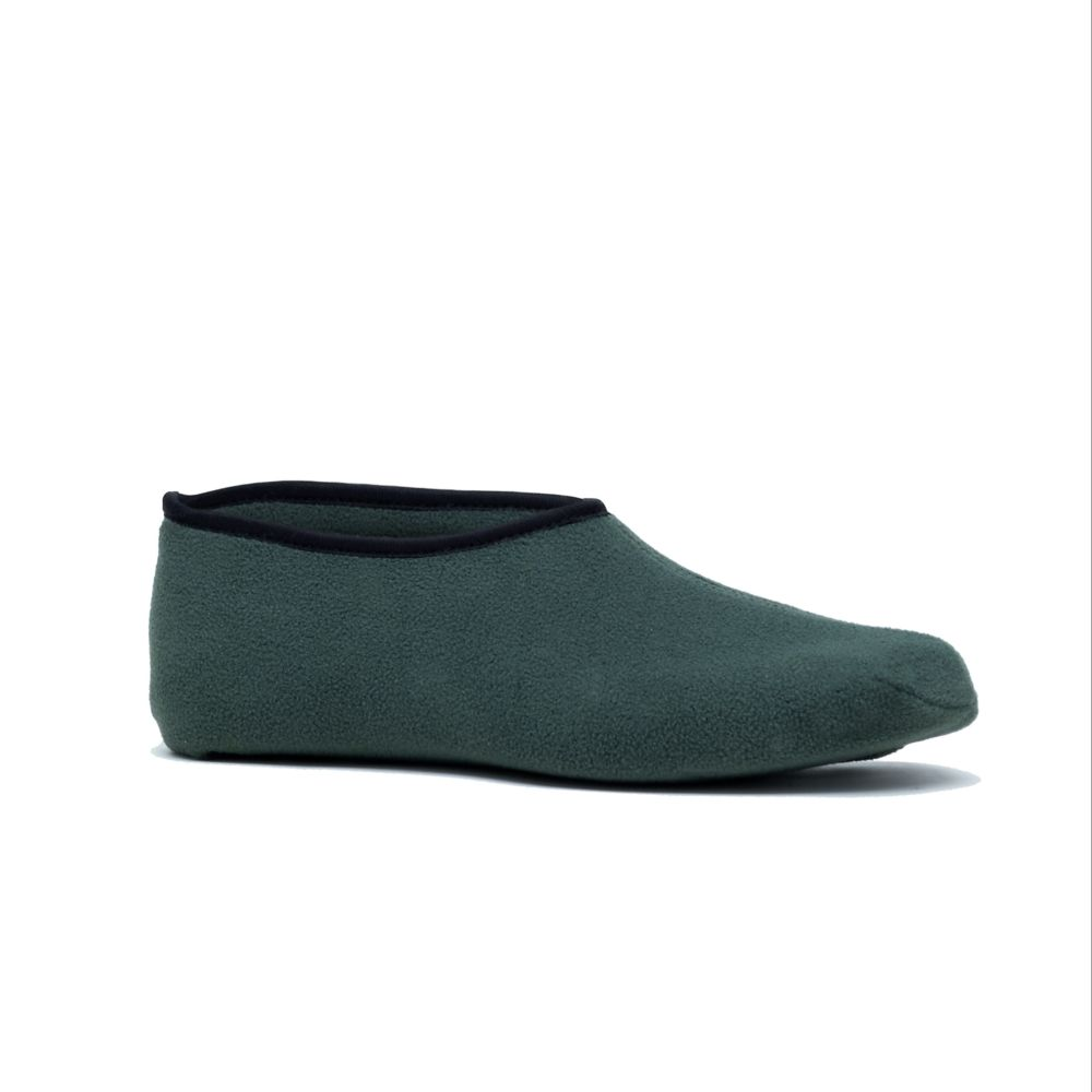 Chaussons polaire vert – Taille 39/42 – Rouchette
