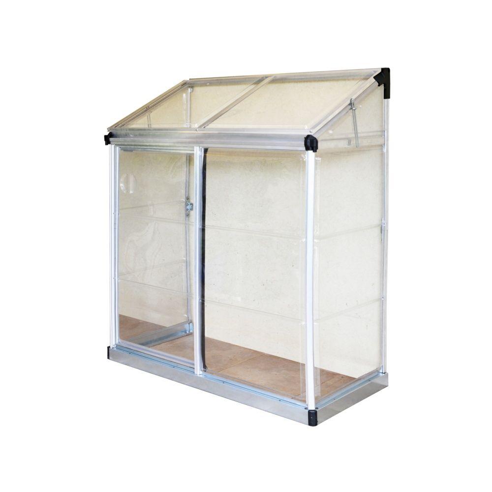 Balcon Et Structure En Acier Sublimant Votre Extérieur: Serre De Balcon Ou Terrasse Adossée 0.91m2 Polycarbonate