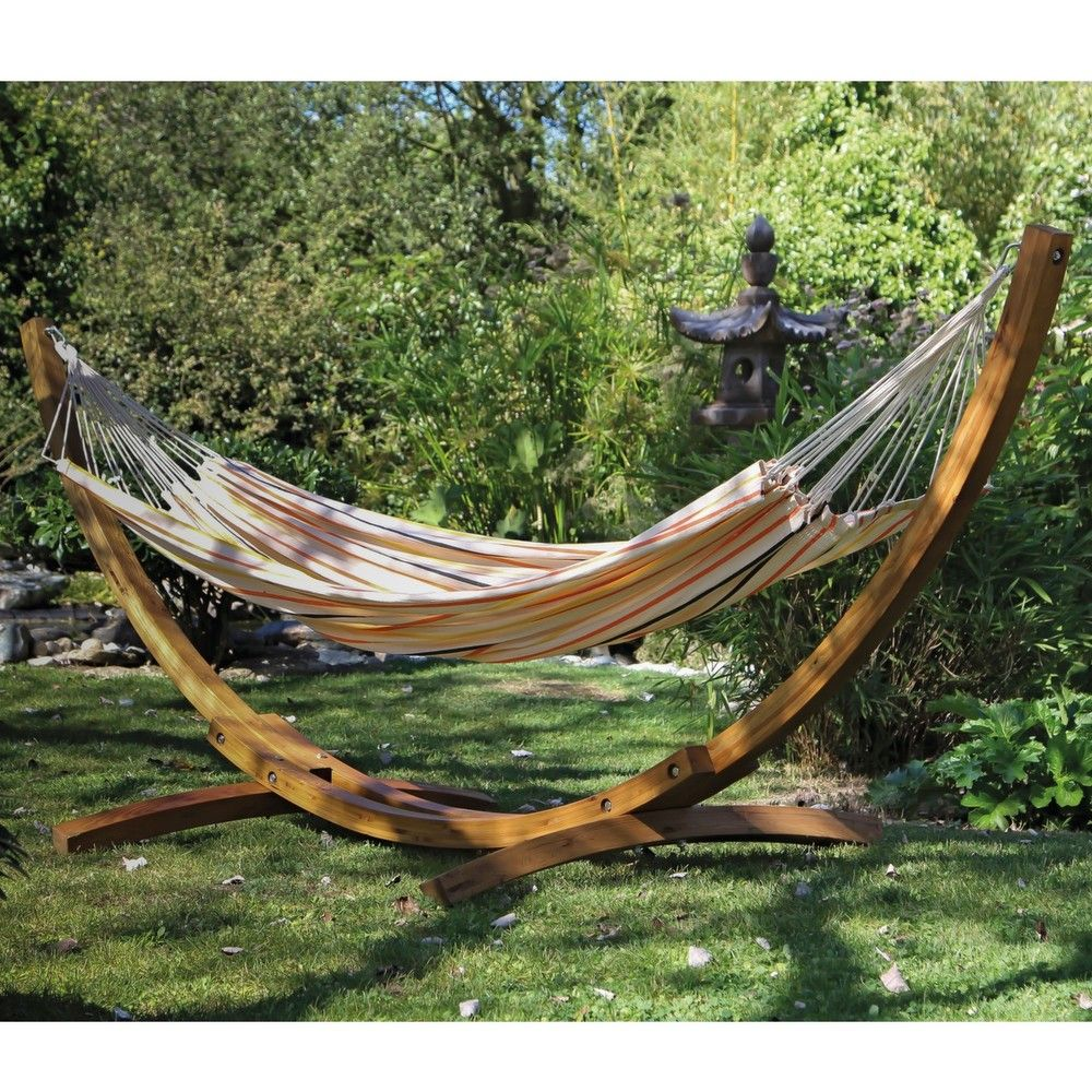 hamac toile 100 coton pique nique 50 x 34 cm gamm vert. Black Bedroom Furniture Sets. Home Design Ideas