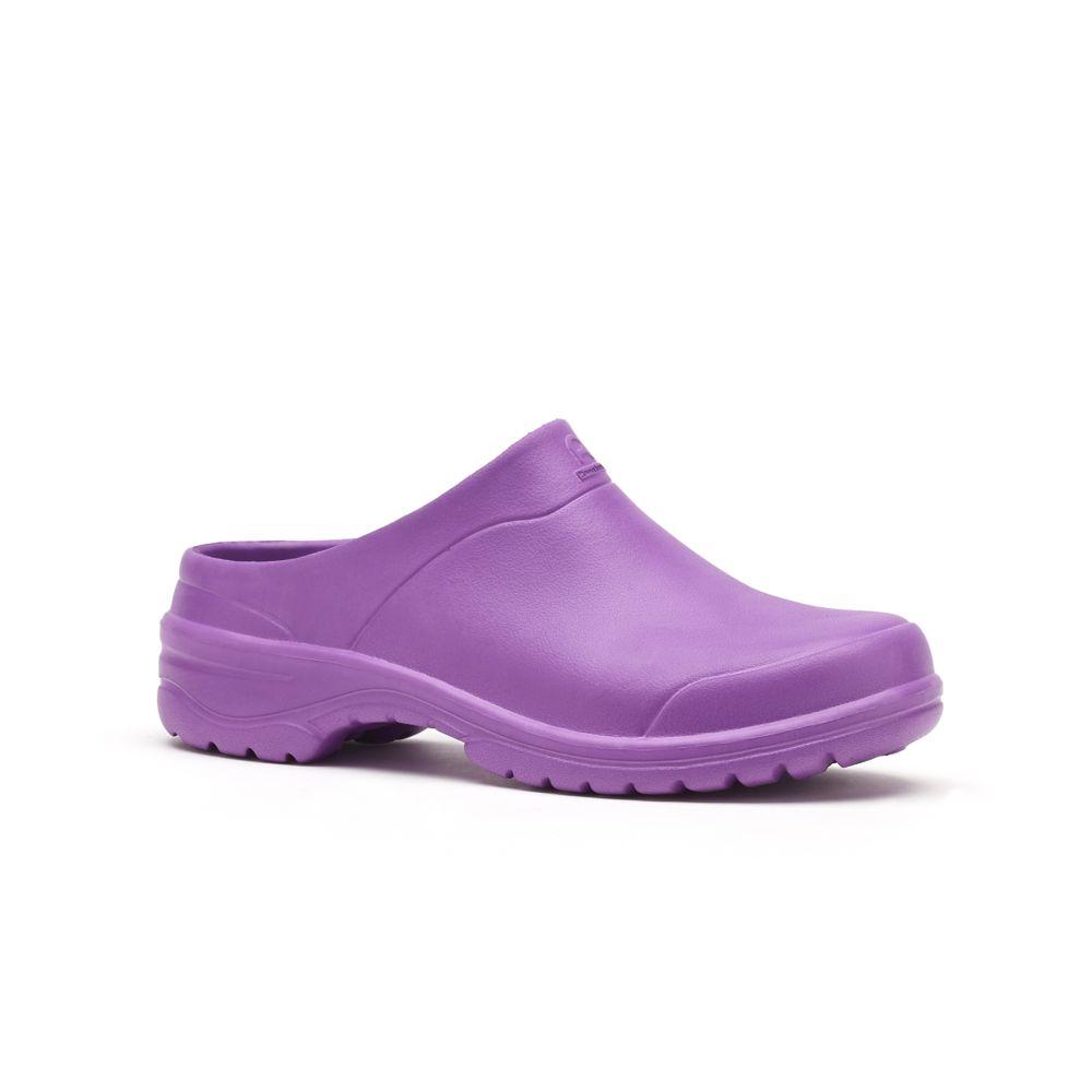 Sabots ouverts femme One violet – Taille 36/37 – Rouchette