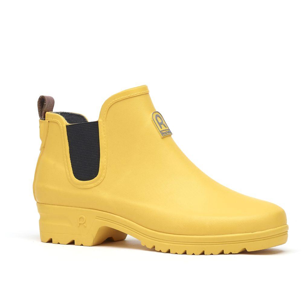Bottillons Active Way jaune – Taille 36 – Rouchette