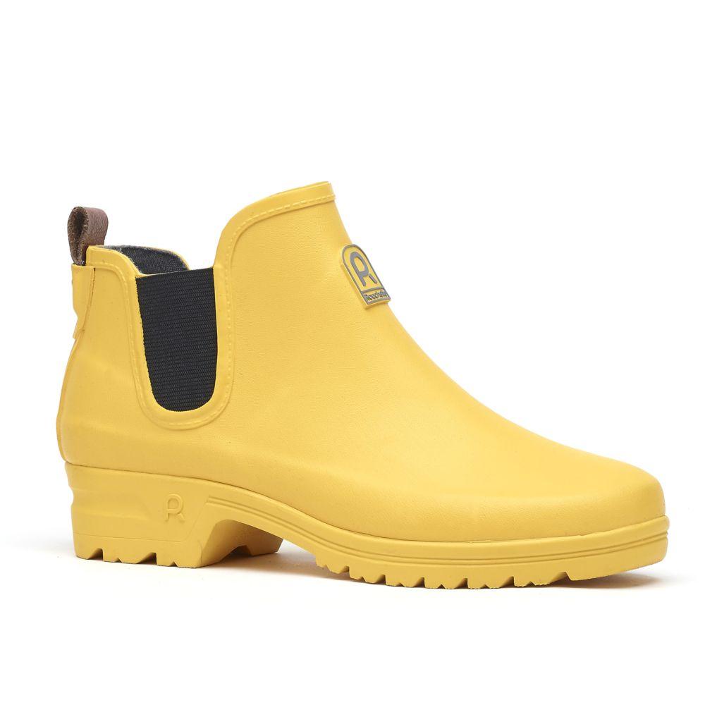 Bottillons Active Way jaune – Taille 38 – Rouchette
