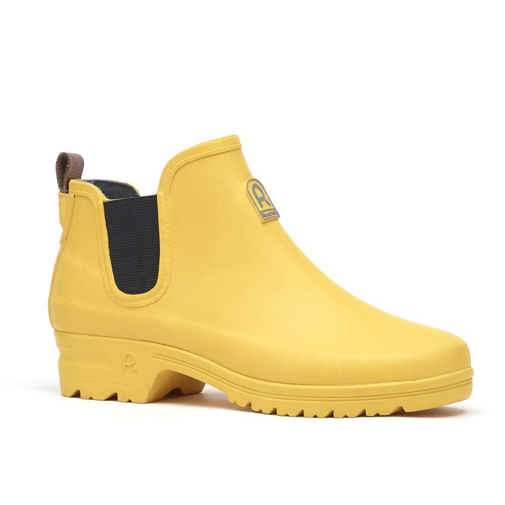 Bottillons Active Way jaune – Taille 41 – Rouchette