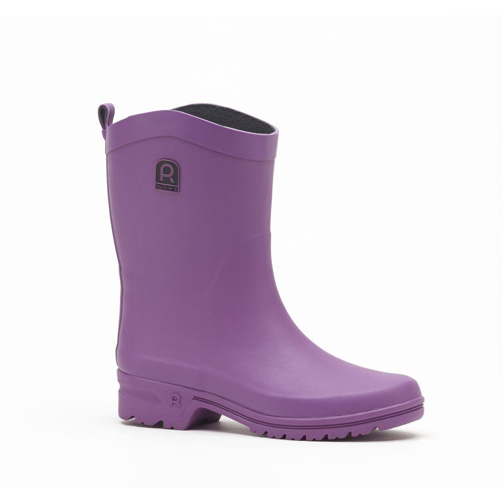 Demi-bottes Active Attitude femme violet – Taille 37 – Rouchette