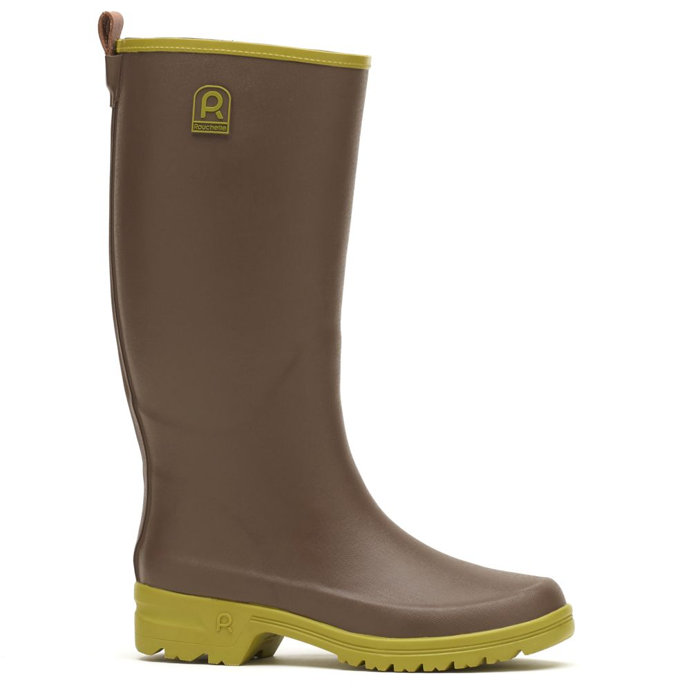 Bottes Active Country taupe – Taille 37 – Rouchette