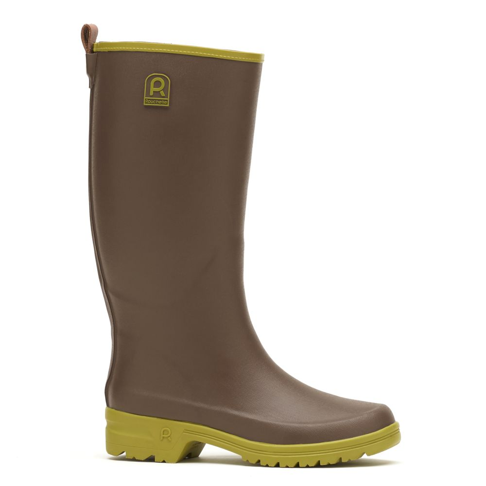 Bottes Active Country taupe – Taille 38 – Rouchette