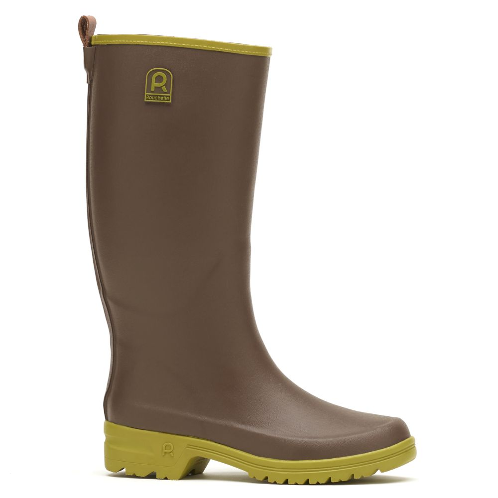 Bottes Active Country taupe – Taille 39 – Rouchette