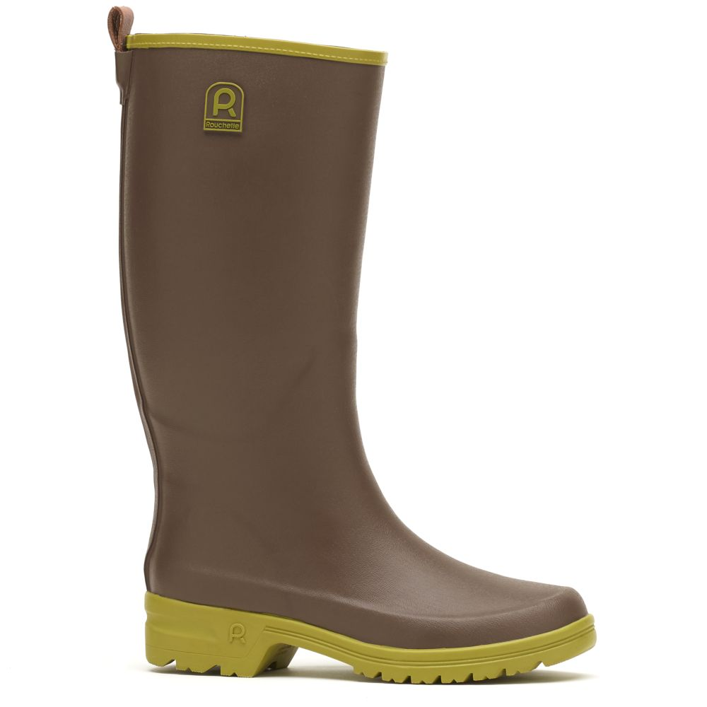 Bottes Active Country taupe – Taille 40 – Rouchette