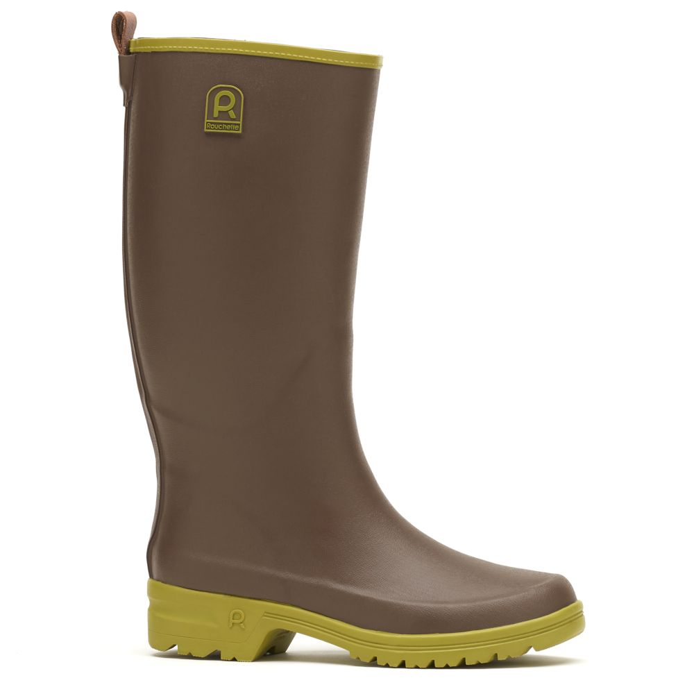 Bottes Active Country taupe – Taille 41 – Rouchette