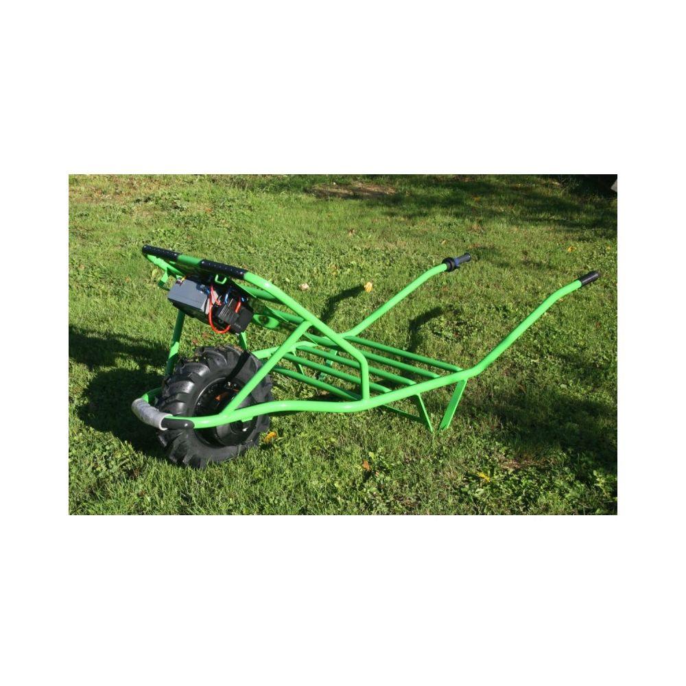 Brouette à moteur électrique Clas Chariot vert – Zoette