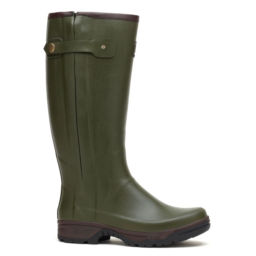 Bottes Veneur Zip kaki – Taille 46 – Rouchette