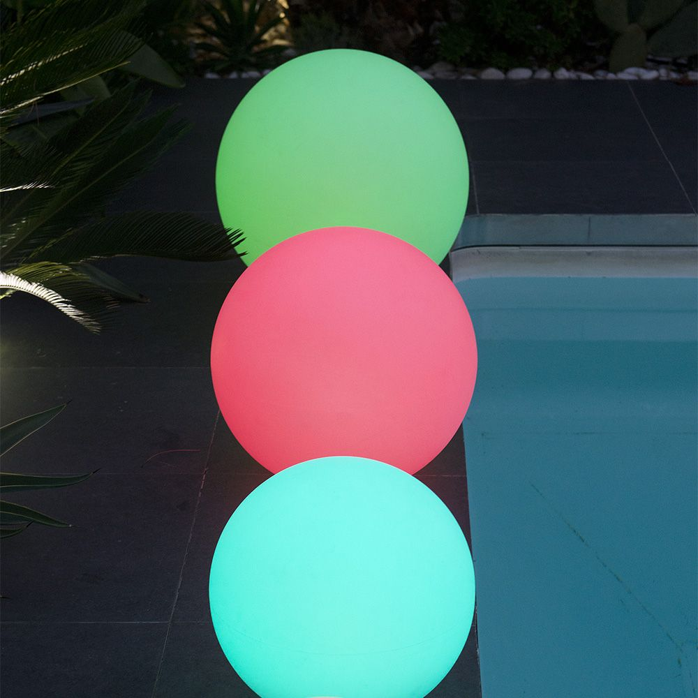boule lumineuse solaire lumisky solsty c30 multicolore l. Black Bedroom Furniture Sets. Home Design Ideas