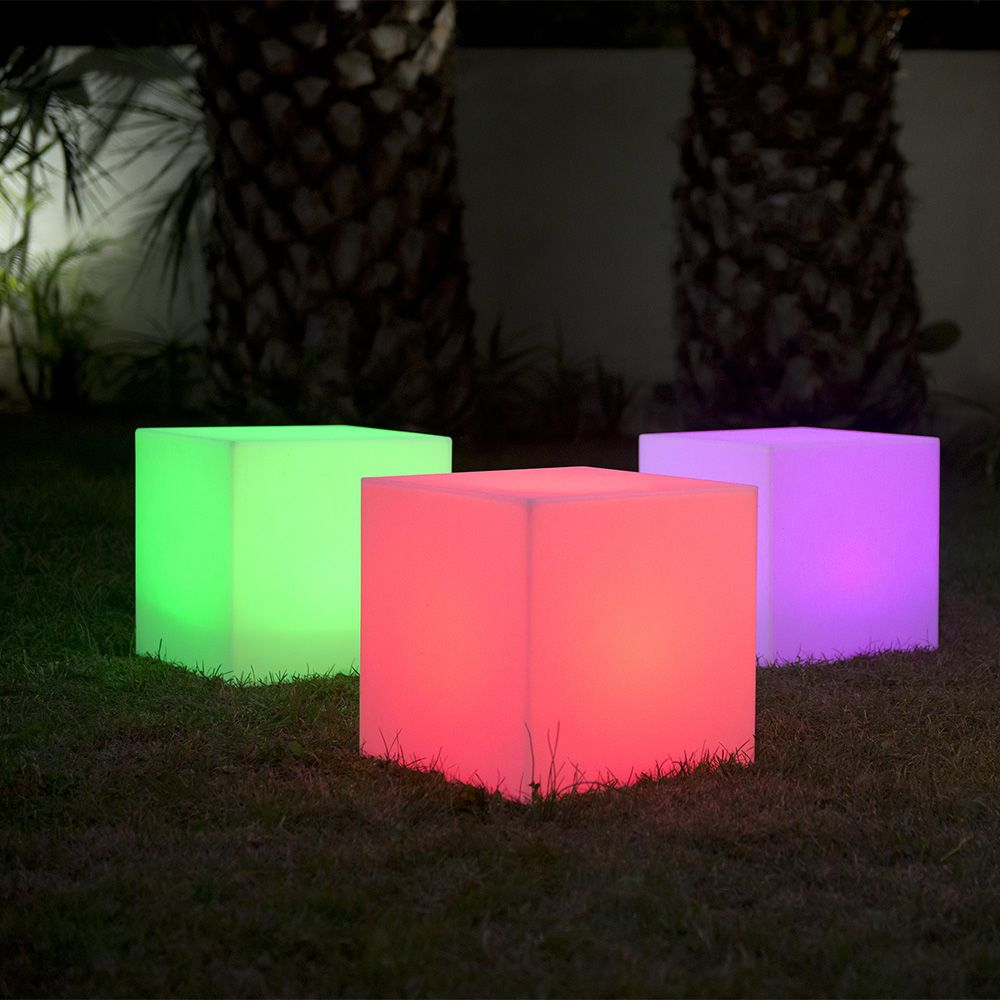 ... Cube Lumineux Lumisky Multicolore Solaire Carry 40 ...