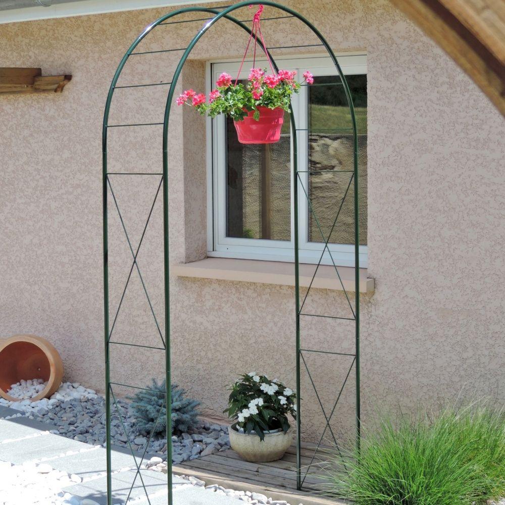 arche double avec d cor losange carton gamm vert. Black Bedroom Furniture Sets. Home Design Ideas