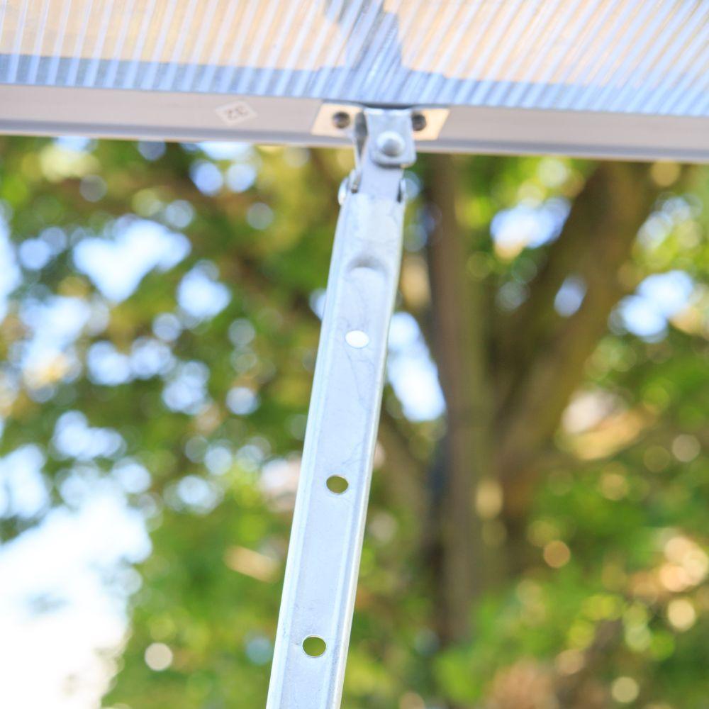 Serre polycarbonate diamant m ch let jardin colis for Entretien jardin 41
