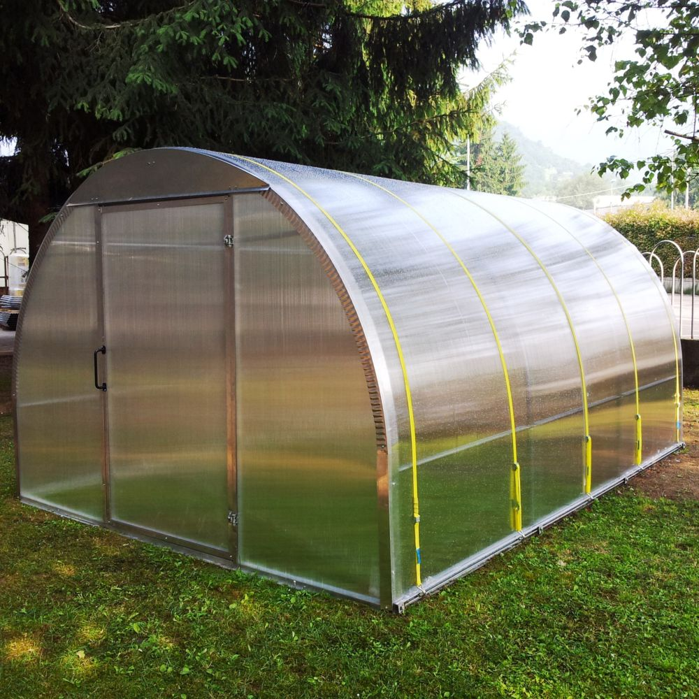 Serre polycarbonate anth a m 3 cartons 300 x 17 x 17 cm 190 x 105 x 4 cm 210 x 100 - Serre artisanale de jardin ...