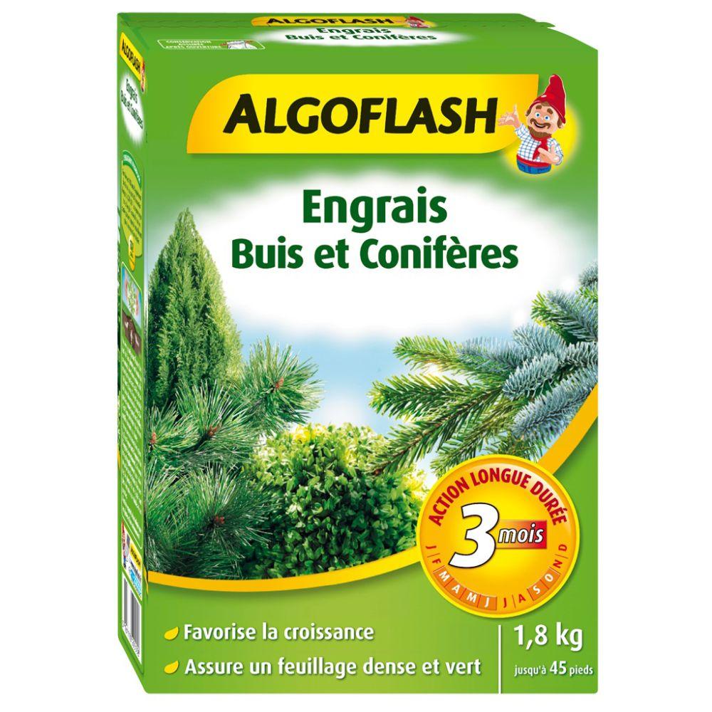 Engrais Arbustes d'ornement et Conifères 1.8 kg – Algoflash