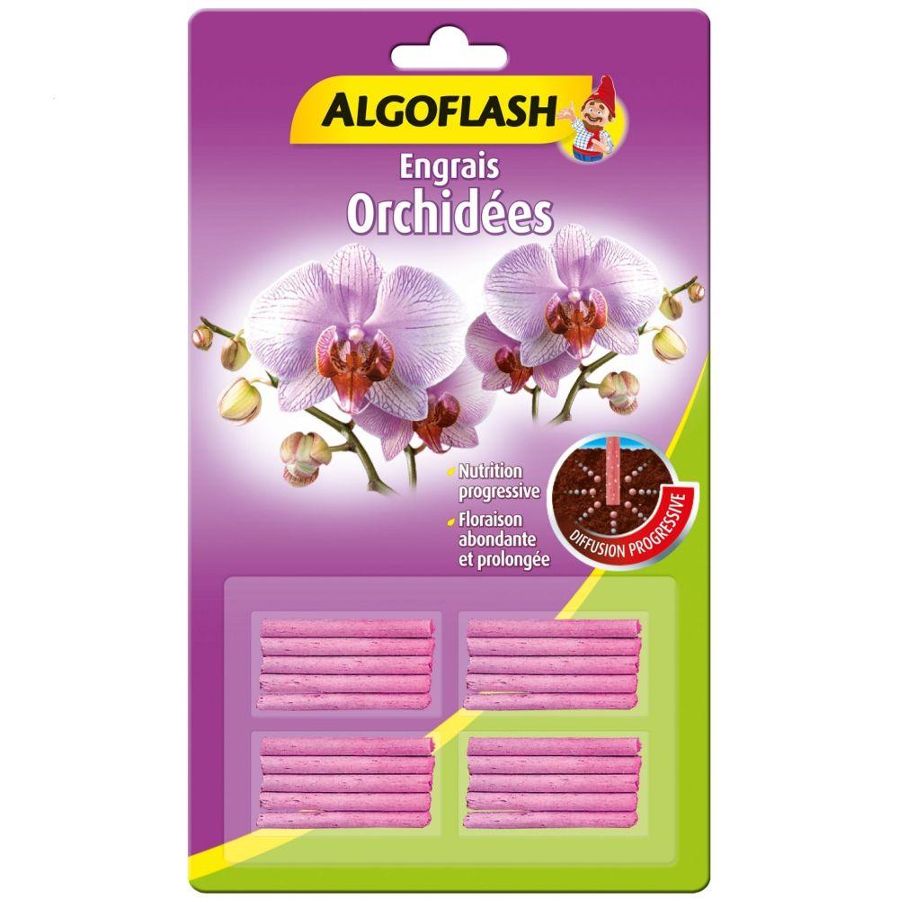 Engrais orchidées 20 bâtonnets – Algoflash