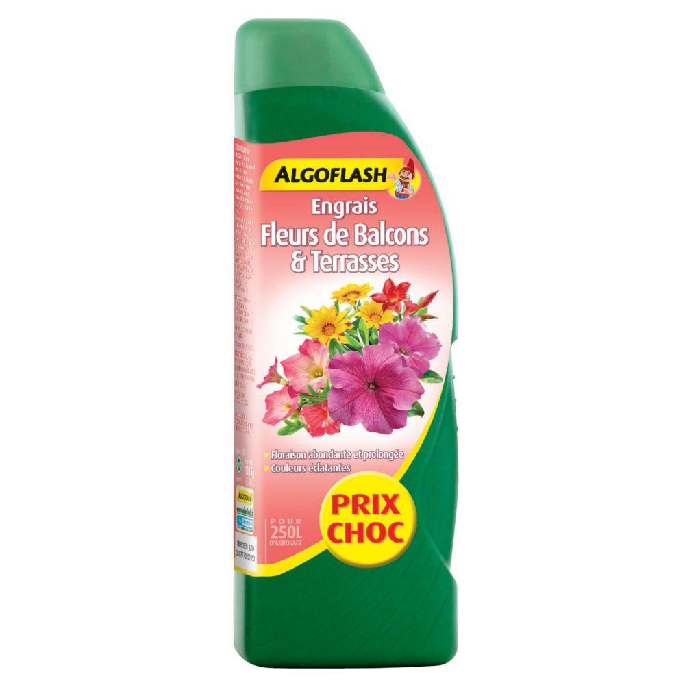 Engrais fleurs de balcons et terrasses 1 L – Algoflash