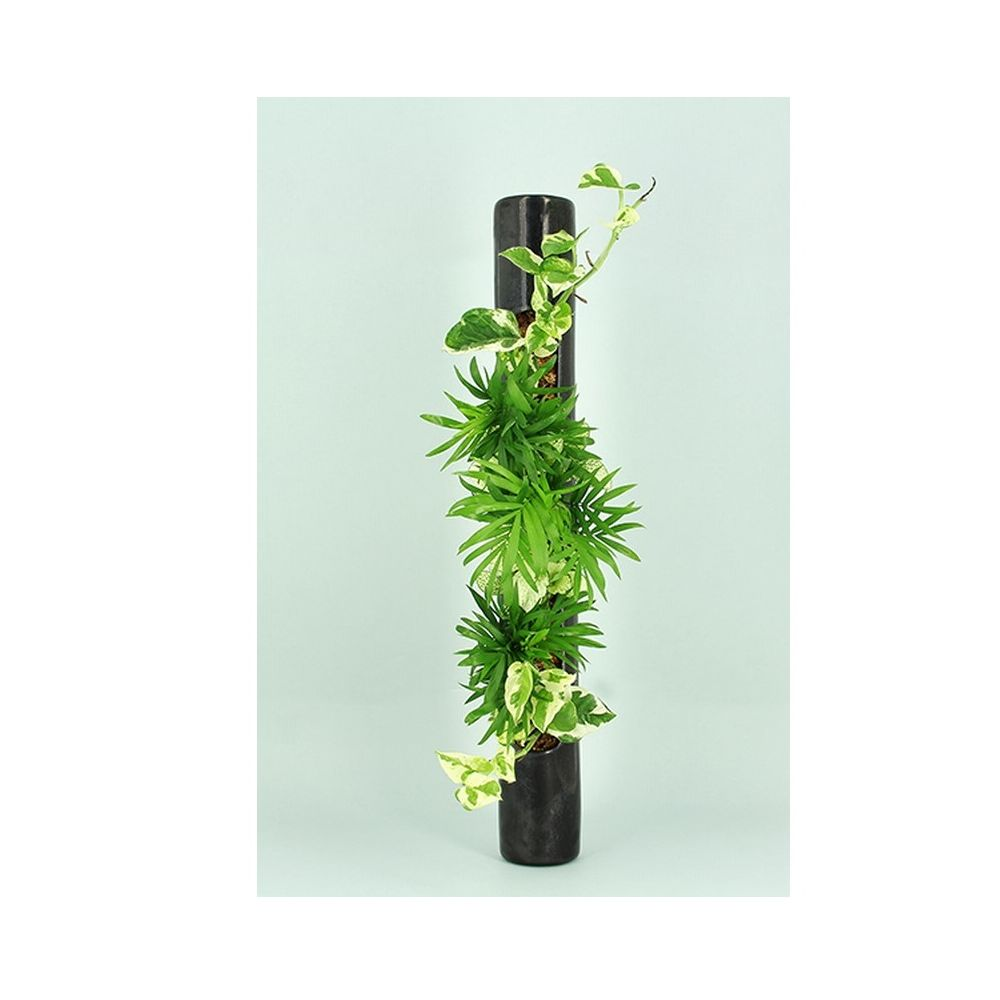 d coration murale v g tale tube c ramic m tal tube en c ramique 65cm gamm vert. Black Bedroom Furniture Sets. Home Design Ideas