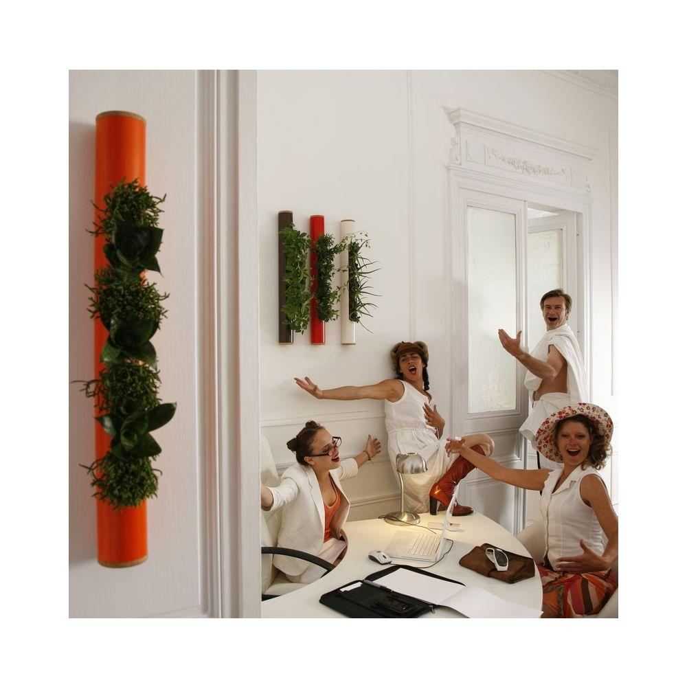 d coration murale v g tale tube c ramic rouge tube en c ramique 65cm gamm vert. Black Bedroom Furniture Sets. Home Design Ideas