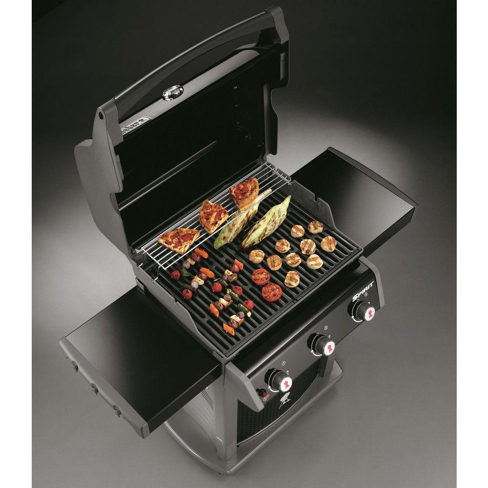 barbecue gaz weber spirit classic e310 noir gamm vert. Black Bedroom Furniture Sets. Home Design Ideas