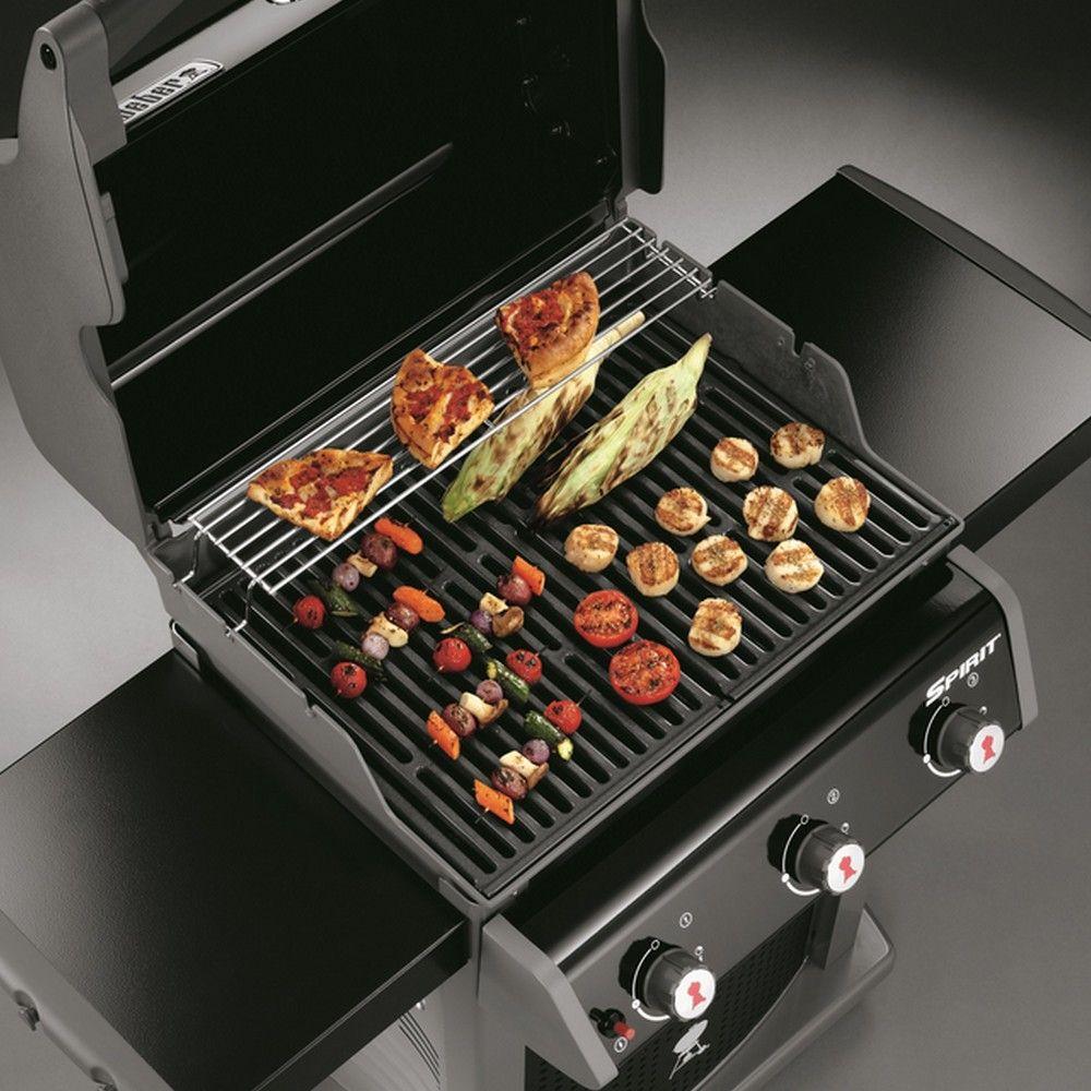 barbecue gaz weber spirit classic e310 noir - gamm vert