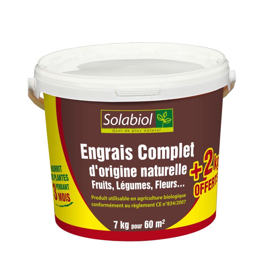 Engrais complet 7 kg – Solabiol