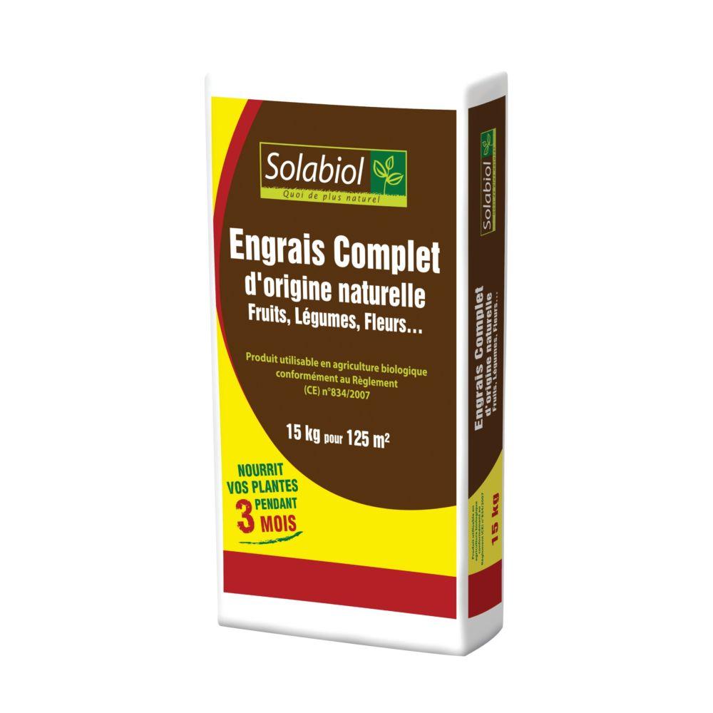 Engrais complet 15 kg – Solabiol